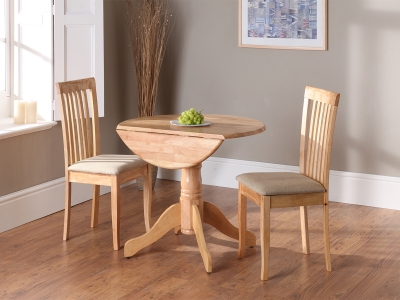 Vida Living Brecon Extending Dining Table - Natural