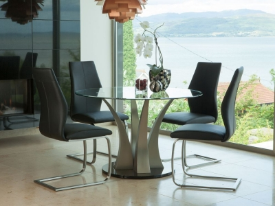Vida Living Liberty Glass Dining Table