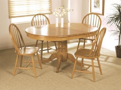 Vida Living Malvern Wooden Extending Dining Table