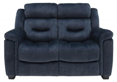 Vida Living Dudley Blue Fabric 2 Seater Sofa