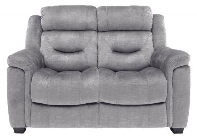 Vida Living Dudley Grey Fabric 2 Seater Sofa