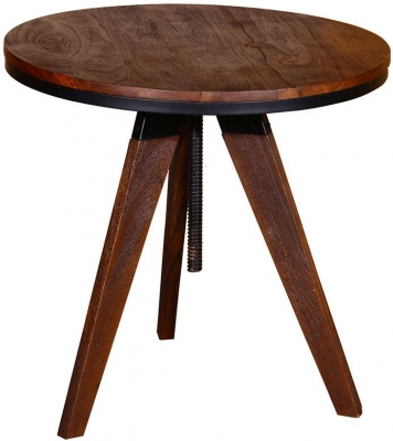 Vida Living Durango Acacia Wood Lamp Table
