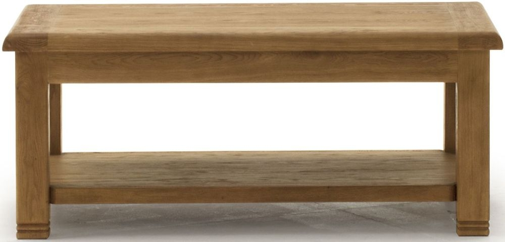 Vida Living Edmonton Oak Coffee Table