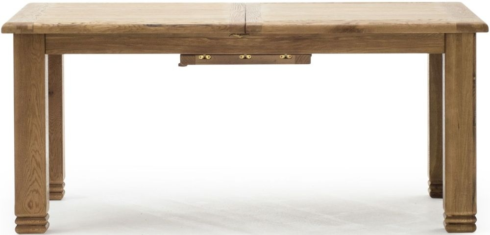 Vida Living Edmonton Oak Large Extending Dining Table