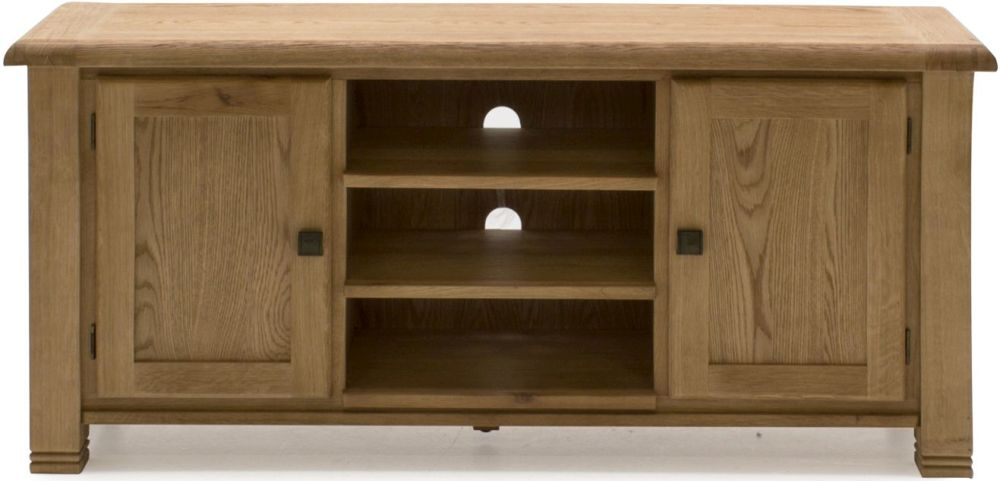 Vida Living Edmonton Oak TV Unit