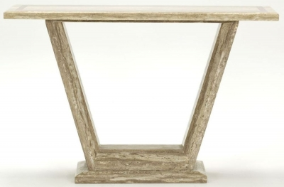 Vida Living Elgin Marble Sahara Console Table