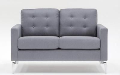 Vida Living Eliza 2 Seater Fabric Sofa - Grey