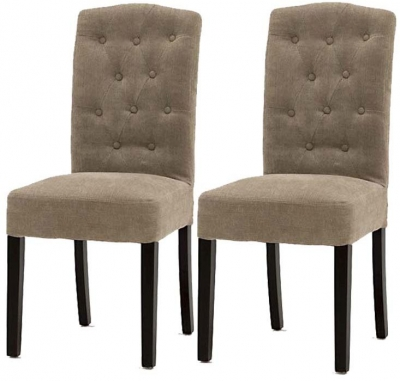 Vida Living Emerson Dining Chair - Camel (Pair)