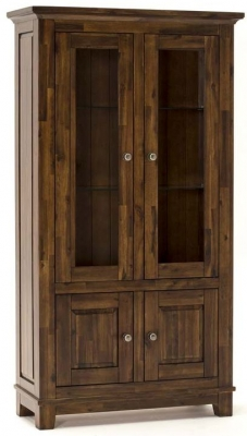 Vida Living Emerson Walnut Display Unit