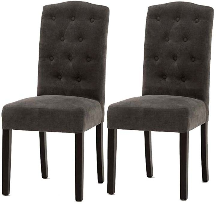 Vida Living Emerson Dining Chair - Grey (Pair)