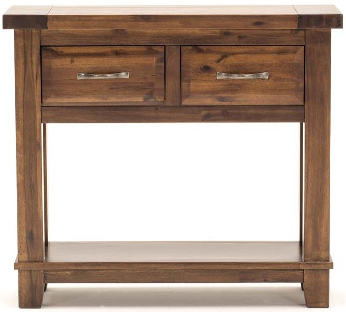 Vida Living Emerson Walnut Console Table