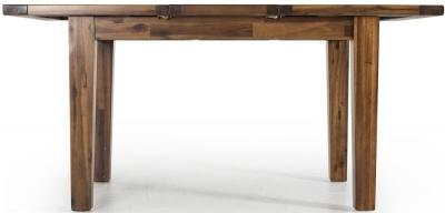 Vida Living Emerson Acacia Extending Rectangular Dining Table - 120cm-160cm