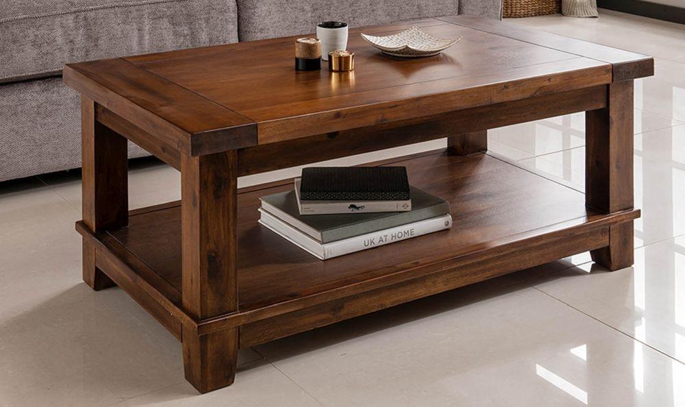 Vida Living Emerson Acacia Coffee Table