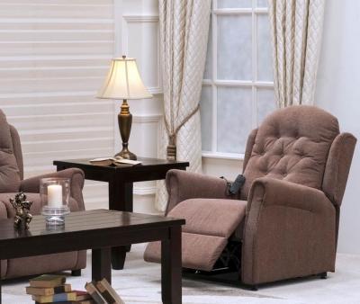 Vida Living Emory Electric Lift Up Chair - Brown