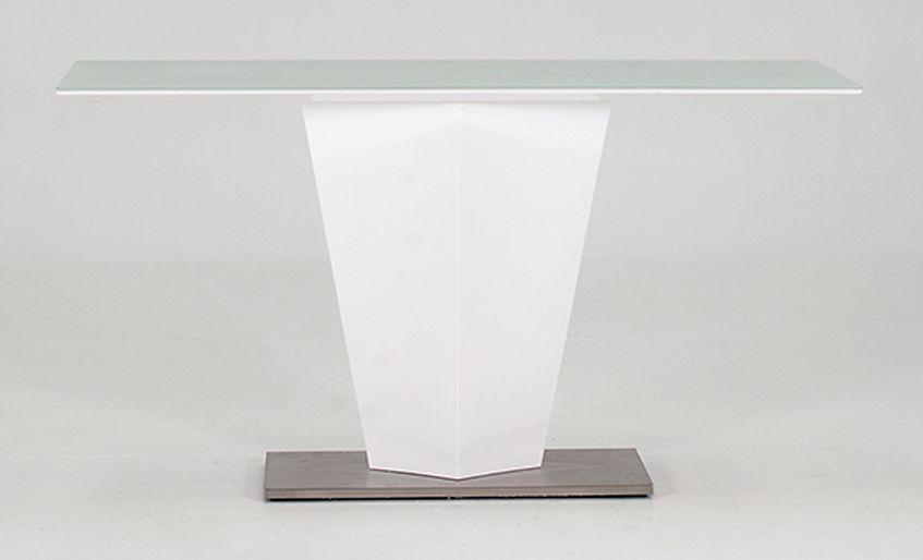 Vida Living Essence White Gloss Console Table