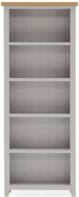 Vida Living Ferndale Tall Bookcase - Oak and Grey Painted