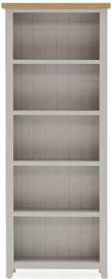 Vida Living Ferndale Grey Painted Large Bookcase