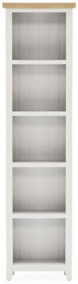 Vida Living Ferndale Grey Painted Narrow Bookcase