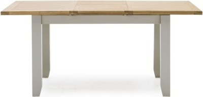 Vida Living Ferndale 120cm-160cm Grey Painted Extending Dining Table