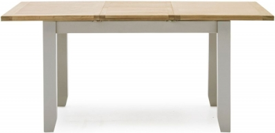 Vida Living Ferndale 150cm-195cm Grey Painted Extending Dining Table