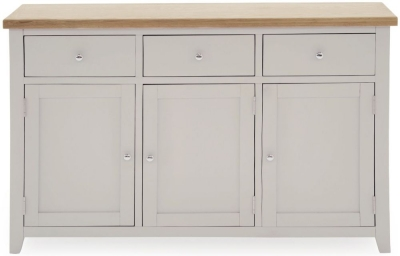 Vida Living Ferndale Grey Painted Large Sideboard
