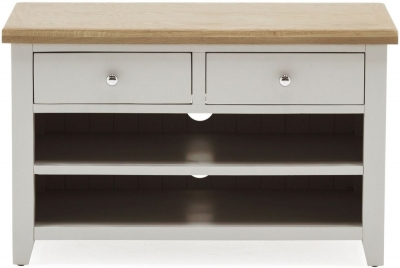 Vida Living Ferndale TV Unit - Oak and Grey Painted