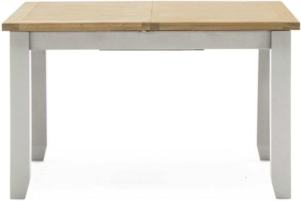 Vida Living Ferndale Dining Table - Oak and Grey Painted