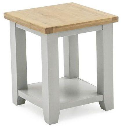 Vida Living Ferndale Grey Painted Lamp Table