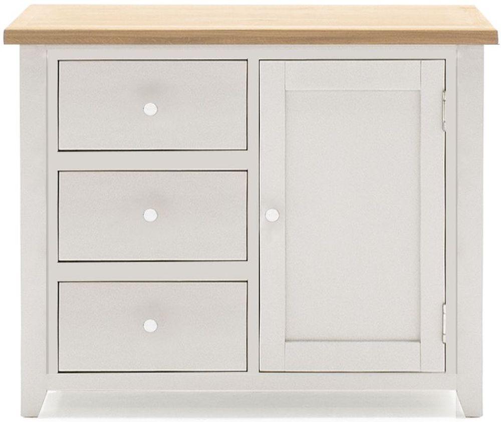 Vida Living Ferndale Grey Painted Hall Cabinet