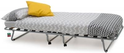 Vida Living Noto Grey Painted Folding Bed with Metal Legs