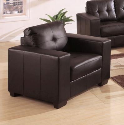 Vida Living Gemona Leather Armchair - Brown