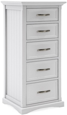 Vida Living Harlow White Painted Tall Chest