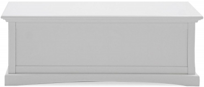 Vida Living Harlow Blanket Box - White