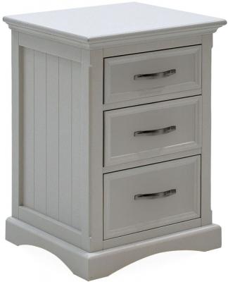 Vida Living Harlow Bedside Cabinet - Grey