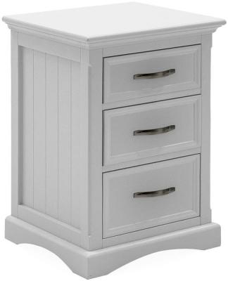 Vida Living Harlow Bedside Cabinet - White