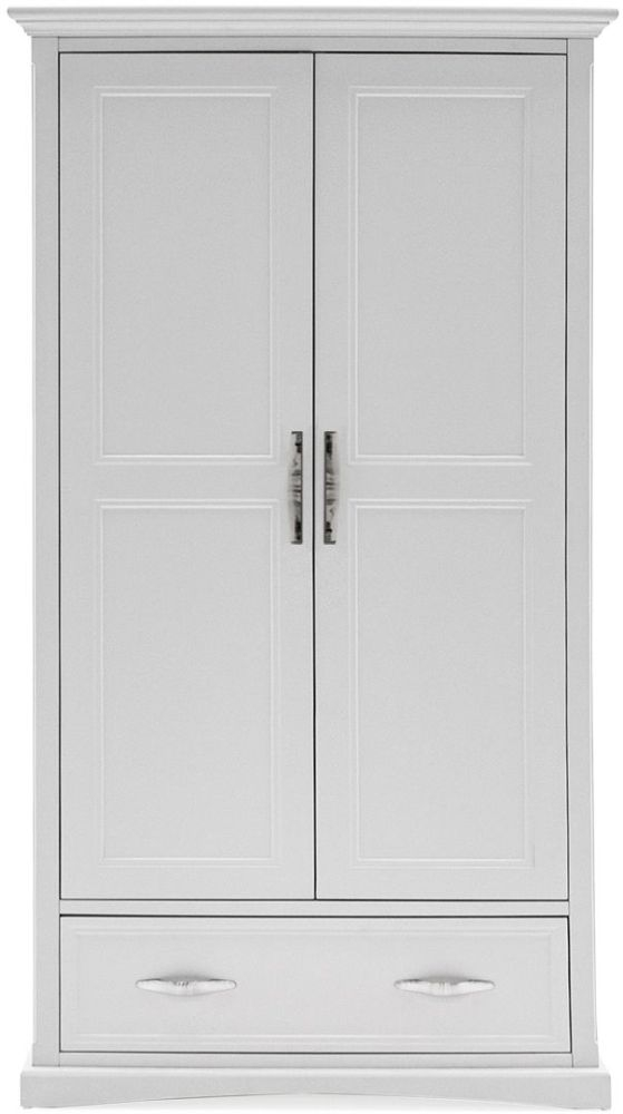 Vida Living Harlow 2 Door Wardrobe - White