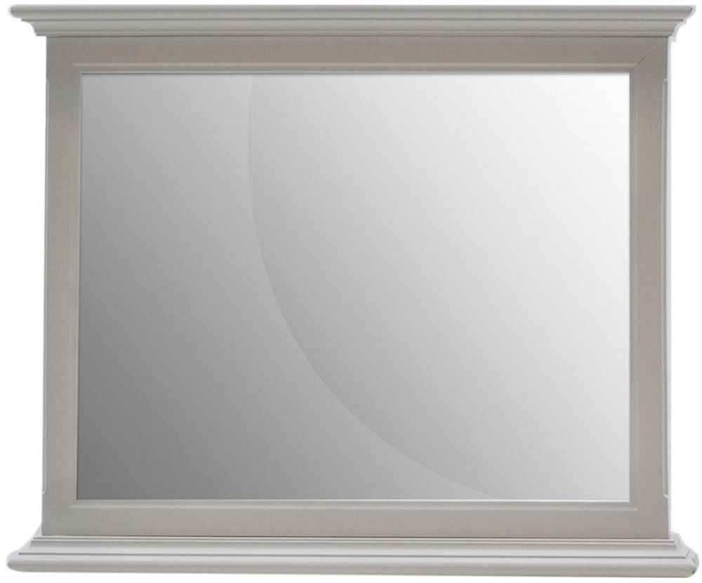 Vida Living Harlow Rectangular Mirror - 97.7cm x 82cm Grey