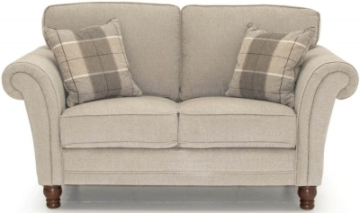 Vida Living Helmsdale Pewter Fabric 2 Seater Sofa