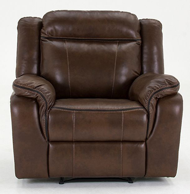 Vida Living Houston Pellaria Recliner Armchair - Nappa Brown