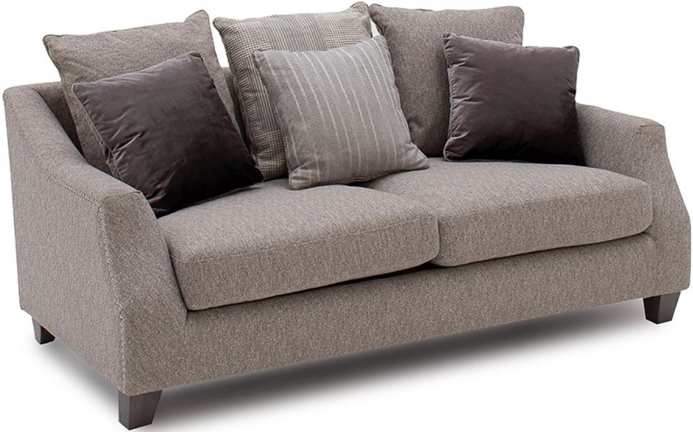 Vida Living Imogen Grey Fabric 2 Seater Sofa