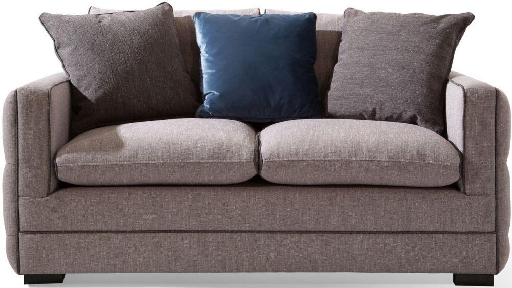 Vida Living Ivy Grey Fabric 2 Seater Sofa