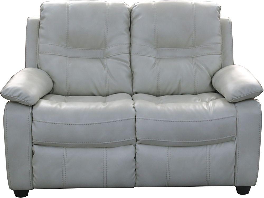 Vida Living Kennedy 2 Seater Pellaria Fixed Sofa - Nappa Ivory