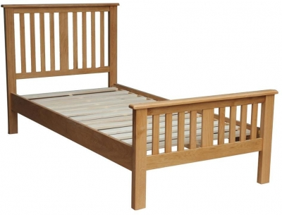 Vida Living Klara Oak Bed
