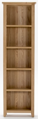 Vida Living Klara Oak Bookcase - Slim