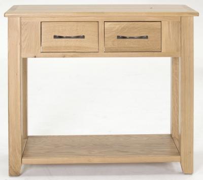 Vida Living Klara Oak Console Table