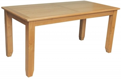 Vida Living Klara Oak Dining Table - Fixed