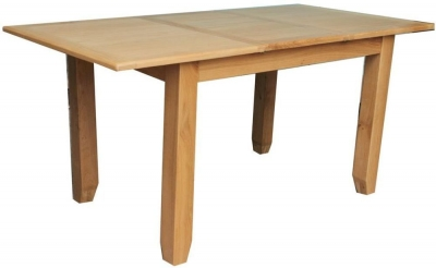 Vida Living Klara Oak Dining Table - Large Extending