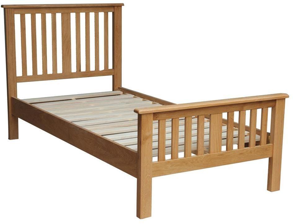 Vida Living Klara Oak Bed