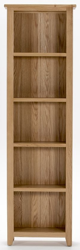 Vida Living Klara Oak Bookcase - Slim