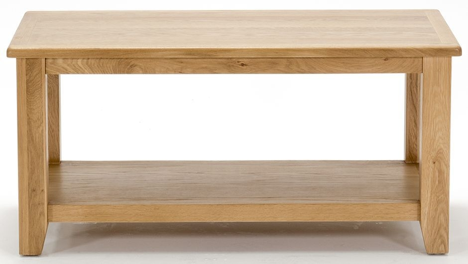 Vida Living Klara Oak Coffee Table